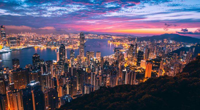 Nachtleben in Hong Kong