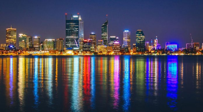 Nachtleben in Perth