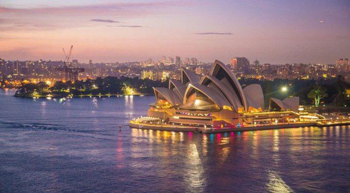 Nachtleben in Sydney