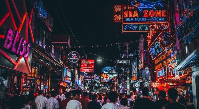 Nachtleben in Thailand